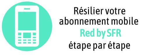 resiliation abonnement mobile red by sfr