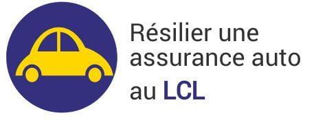 la résiliation de son assurance auto au lcl