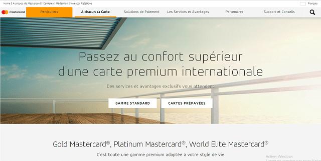 carte mastercard premium