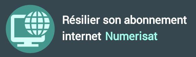 résiliation abonnement internet numerisat