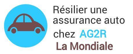 resiliation assurance auto ag2r la mondiale