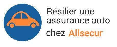 resiliation assurance auto allsecur