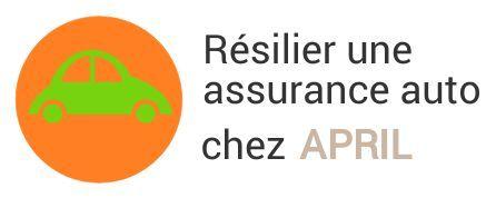 resiliation assurance auto april