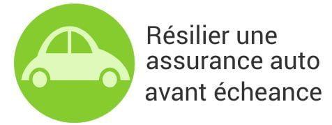 resiliation assurance auto avant echeance