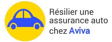 resiliation assurance auto aviva