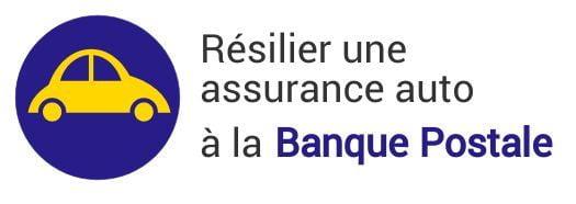resiliation assurance auto banque postale