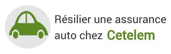 resiliation assurance auto cetelem