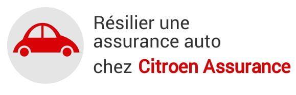 resiliation assurance auto citroen assurance