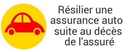 resiliation assurance auto deces assure