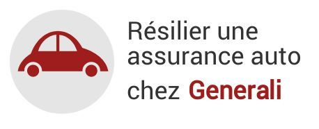 resiliation assurance auto generali