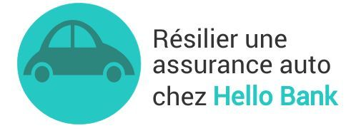 resiliation assurance auto hello bank