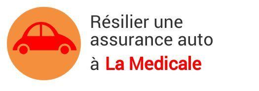resiliation assurance auto la medicale