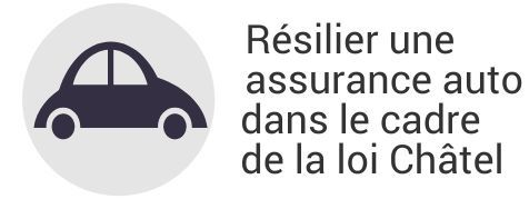 resiliation assurance auto loi chatel