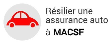 resiliation assurance auto macsf