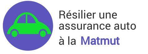 resiliation assurance auto matmut