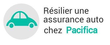 resiliation assurance auto pacifica