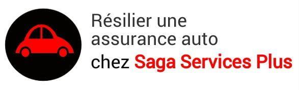 resiliation assurance auto saga services plus