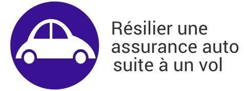 resiliation assurance auto vol