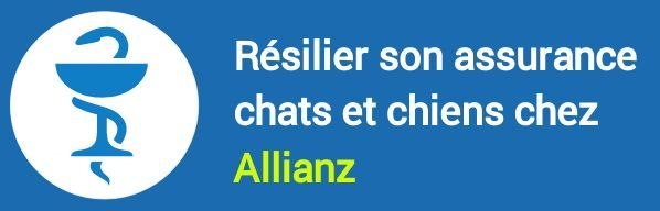 resiliation assurance chats chiens allianz