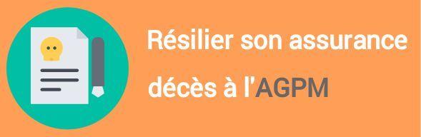 resiliation assurance deces agpm