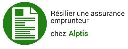 resiliation assurance emprunteur alptis