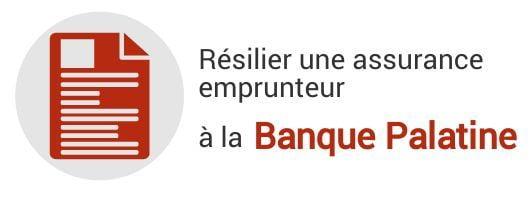resiliation assurance emprunteur banque palatine