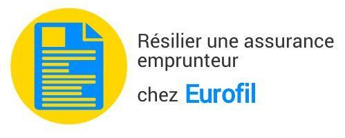 resiliation assurance emprunteur eurofil