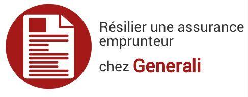 resiliation assurance emprunteur generali