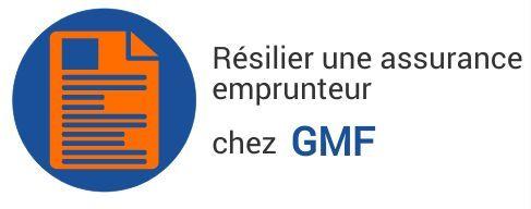 resiliation assurance emprunteur gmf