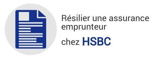 resiliation assurance emprunteur hsbc