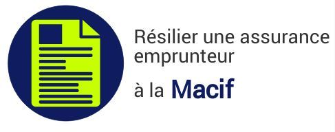 resiliation assurance emprunteur macif