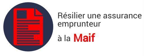 resiliation assurance emprunteur maif
