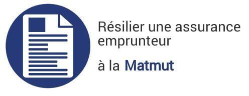 resiliation assurance emprunteur matmut