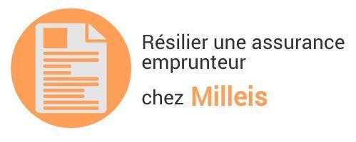 resiliation assurance emprunteur milleis