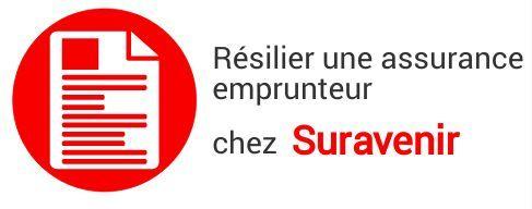 resiliation assurance emprunteur suravenir