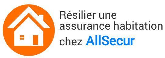 resiliation assurance habitation allsecur