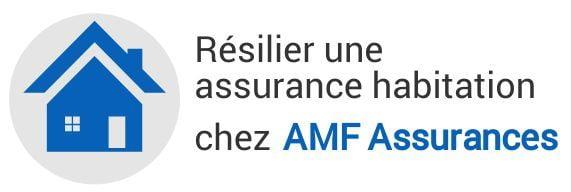 resiliation assurance habitation amf assurances