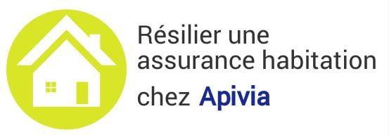 resiliation assurance habitation apivia