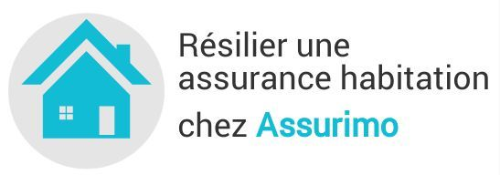 resiliation assurance habitation assurimo
