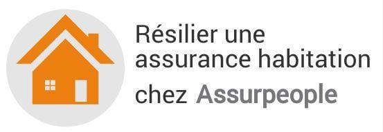 resiliation assurance habitation assurpeople
