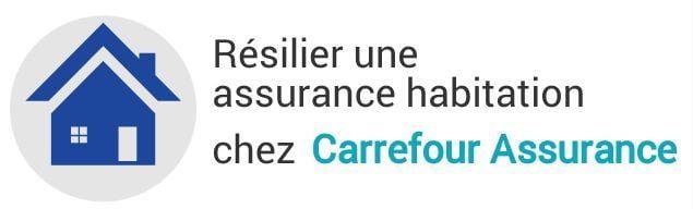 resiliation assurance habitation carrefour assurance
