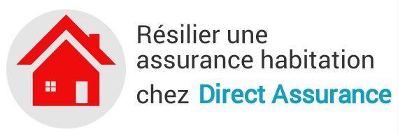 resiliation assurance habitation direct assurance