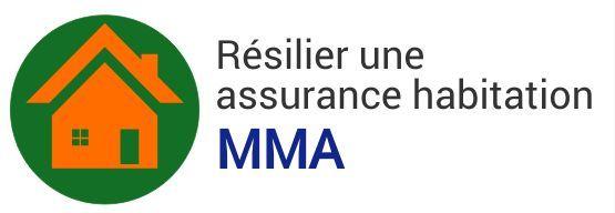 resiliation assurance habitation mma