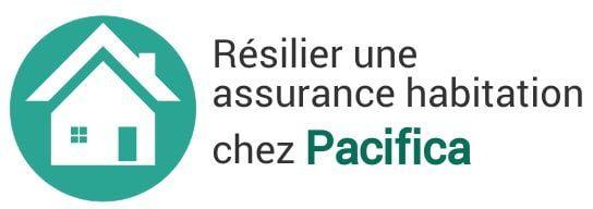 resiliation assurance habitation pacifica