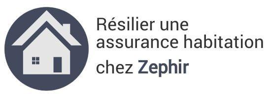 resiliation assurance habitation zephir
