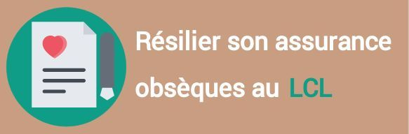 resiliation assurance obseques lcl