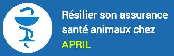 resiliation assurance sante animaux april