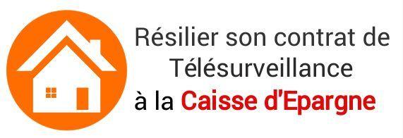 resiliation contrat telesurveillance caisse epargne