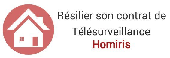 resiliation contrat telesurveillance homiris