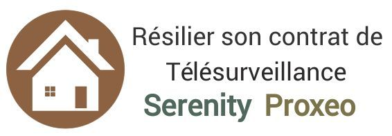 resiliation contrat telesurveillance serenity proxeo